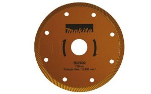 Disco Diamantado 110MM TURBO MAKITA B-02602