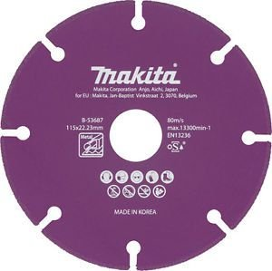 Disco Diamantado p/ Metal 115mm MAKITA B-53687