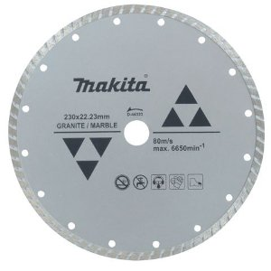 Disco Diamantado 230 mm para Mármore e Granito MAKITA D-44323