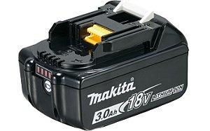 Bateria Recarregável de Li-ion 3.0 Ah18V MAKITA BL1830B