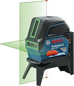 Nível Laser Verde Combinado BOSCH GCL 2-15 G Professional