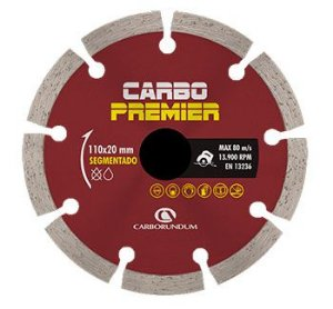 Disco Segmentado Premier Turbo 110mm CARBORUNDUM