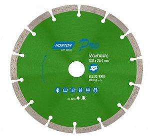 Combo 10 Discos Diamantado PRO Segmentado 180mm NORTON