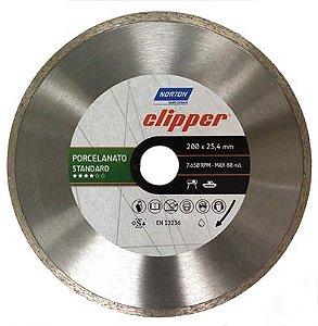 Disco Clipper Diamantado Porcelanato Standard 200x25,4mm Norton