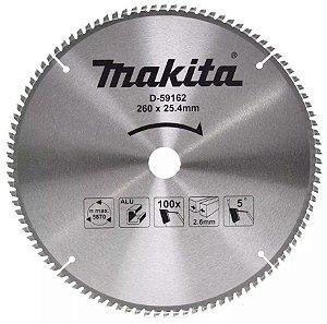 Disco de Serra Esquadria 260mm 100dts MAKITA D-59162