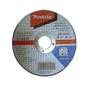 """Disco de Corte de Metal A30 4 1/2"""" MAKITA D-19928-10"""