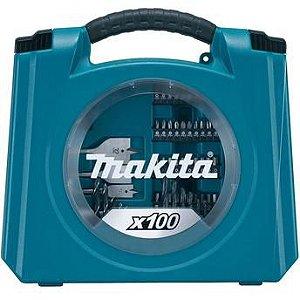 Kit de Acessórios 100 peças MAKITA D-42036