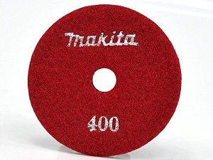 Lixa Diamantada Grão 400 para Polimento de Mármore e Granito MAKITA D-37063