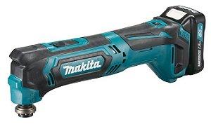 Multiferramenta Oscilante à Bateria 12V CXT MAKITA TM30DWYE