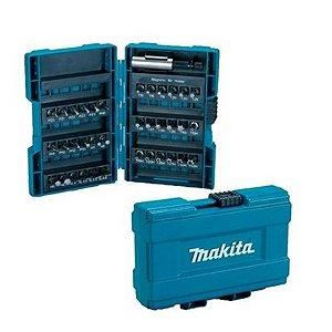 Conjunto de Bits com 37 Peças Makita B-28606