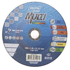 Disco de Corte Multimateriais 180mm NORTON