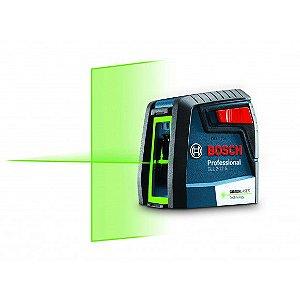 Nível a laser verde com 2 linhas GLL 2-12 G BOSCH