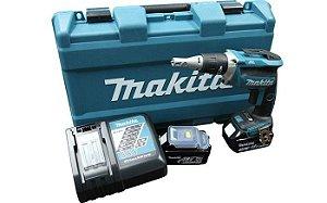 Parafusadeira para Gesso a Bateria 18V Bivolt Makita DFS452RFE