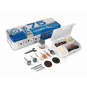 Kit de uso Geral Dremel com 75 Peças para microretífica