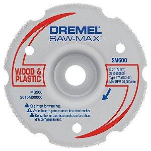 Disco de Corte para Corte Chanfrado e Rente DREMEL DSM600