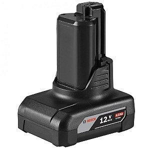 Bateria Bosch de Lítio, 12V Max, 4,0 Ah 1600A0021E