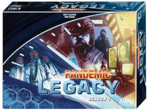 Pandemic Legacy - Azul