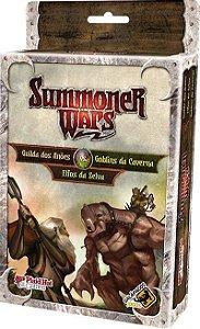 Guilda dos Anões X Goblins da Caverna X Elfos da Selva - Expansão Summoner Wars