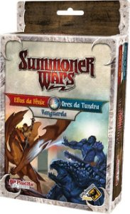 Elfos da Fênix Vs Orcs da Tundra Vs Vanguarda - Expansão Summoner Wars