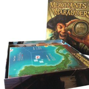 Organizador (Insert) para Merchants and Marauders
