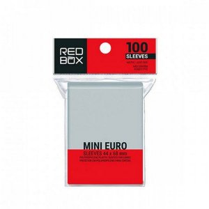 Sleeves Redbox: MINI EURO (44 x 68 mm) - Pacote c/100