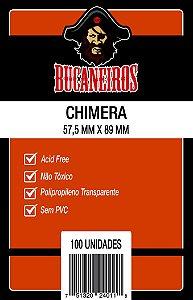 Sleeves Bucaneiros: USA Chimera (57,5 x 89mm) - Pacote c/ 100