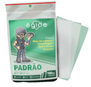 Sleeves Égide: Padrão (63,5 X 88 mm) – Pacote C/100
