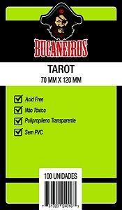 Sleeves Bucaneiros: Tarot (70 x 120mm) - Pacote c/100