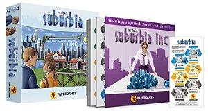 "Pré Venda - Combo Suburbia + Suburbia Inc + Expansão ""Essen Spiel"""