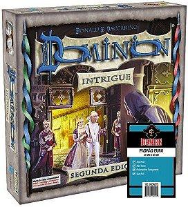 Pré Venda - Dominion Intrigue 2ª Edição + 3 Pacotes Sleeves EURO Bucaneiros