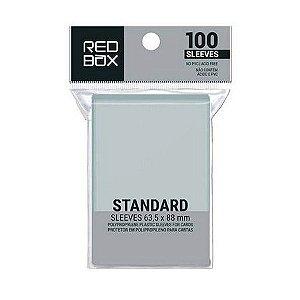 Sleeves RedBox: Padrão (63,5 X 88 mm) - Pacote c/100