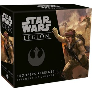 Star Wars Legion - Troopers Rebeldes - Expansão de Unidade
