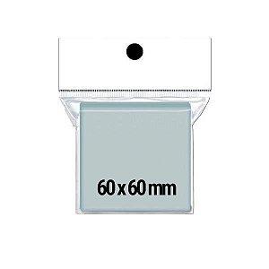 Sleeves Quadrados 60x60 - Pacote c/ 75