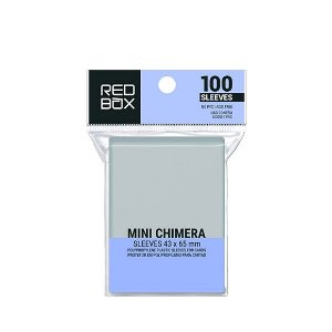 Sleeves Redbox: Mini Chimera (43 X 65 mm) – Pacote C/100