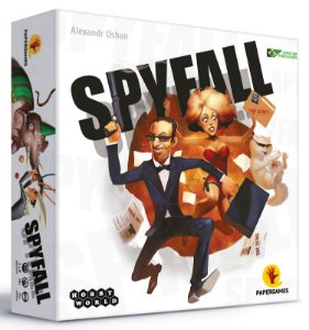"""Spyfall + Cartas Promocionais """"Convenção de Jogos"""""""
