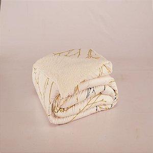 Cobertor Top Line Solteiro Lã de Carneiro 1 peça Gallys