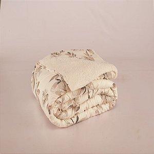 Cobertor Top Line Solteiro Lã de Carneiro 1 peça Capri