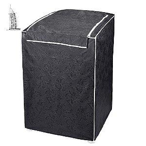 Capa para Máquina de Lavar Roupas Impermeável 13/16kg Grafit