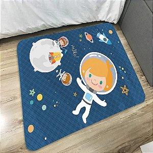 Tapete de Quarto Transfer Kids Criança Arts Astronauta