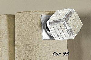 Ponteira Cor 98 Para Varão De Cortina  28mm
