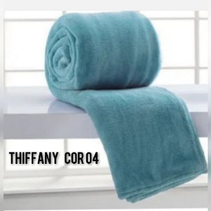 Mantinha Soft Manta Fleece Casal Microfibra Tiffany