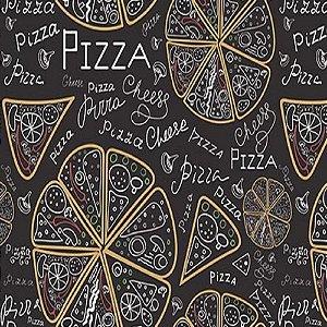 Tapete Capacho Transfer 40cm x 60cm Pizza