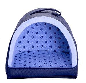 Cama Pet Iglu Realeza Azul