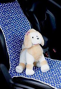 Protetor Pet para veiculo Dianteiro Patas Azul
