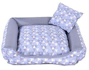 Cama Pet Tricoline Para Cachorro E Gato Tam G Colore Azul