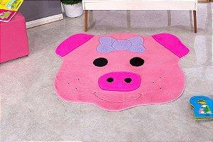 Tapete Formato Big Porquinha 1,03 M X1,12 M Em Pelucia