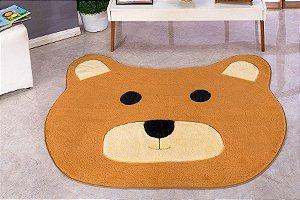Tapete Formato Big Urso 1,20 M X 1,15 M Em Pelucia