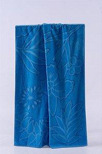 Toalha de Praia e Piscina New Summer Azul