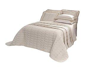 Cobre Leito Imperiale 150 Fios 100% algodão Queen 3 peças Palha