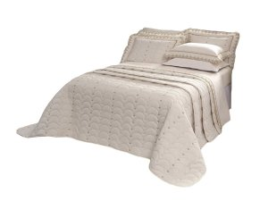 Cobre Leito Imperiale 150 Fios 100% algodão Super King 3 peças Palha